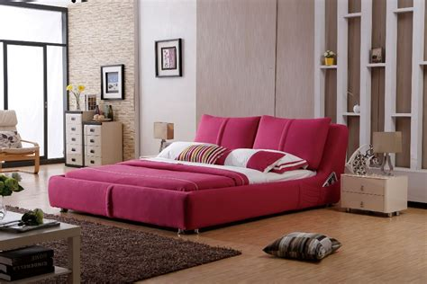 chambre a coucher style americain modern designer fabric bed large bedroom
