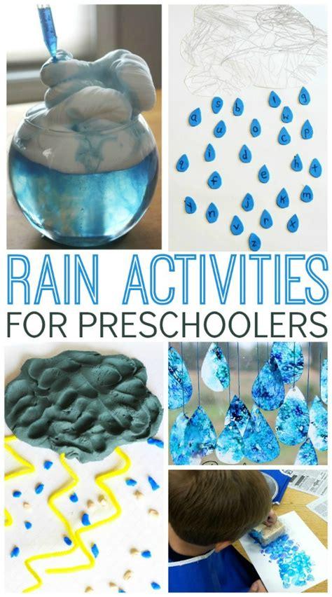 activities for preschoolers pre k pages 206 | Rain Activities for Preschoolers