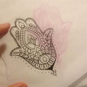 Simple Hamsa tattoo! | Eclectic Ink | Pinterest | Tattoo ...
