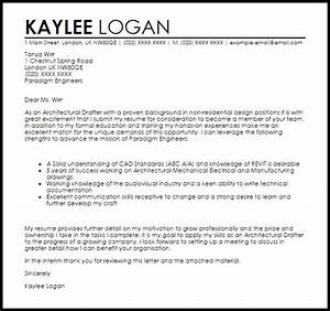 architectural drafter cover letter sample livecareer With cover letter for drafting position