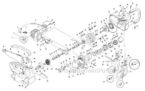 Homelite Ut10660 Parts List And Diagram