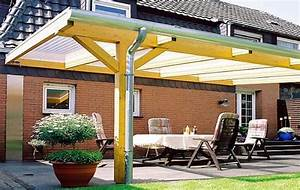 Terrassen berdachung bausatz 6x4m stegplatten und profile for Stegplatten für terrassenüberdachung