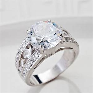 Bella lucer 1346ctw round rhodium plated sterling for Jtv bella luce wedding rings