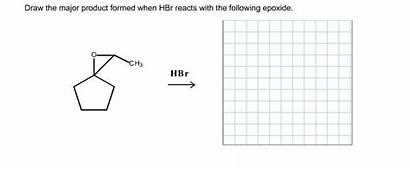 Hbr Major Draw Formed Reacts Following Epoxide