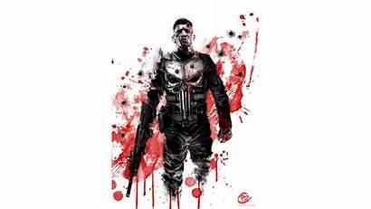 Punisher 4k Wallpapers Resolution Backgrounds Background Artwork