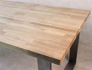 Leimholzplatte Eiche 40mm : tischplatte massivholz eiche kgz 27 1700 750 ~ Eleganceandgraceweddings.com Haus und Dekorationen