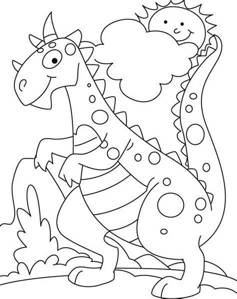 dinosaur coloring pages best 25 dinosaur coloring pages ideas on