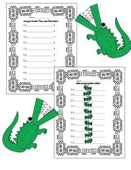 greater    alligators craft worksheets tpt