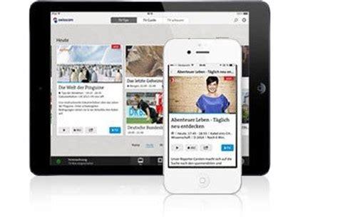 tablet auf tv tv air swisscom tv auf pc tablet und smartphone