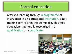 formal education essay