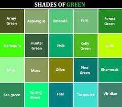 Ral Color Chart Vs Pantone Shades Of Green Names Google Search Green Color Names
