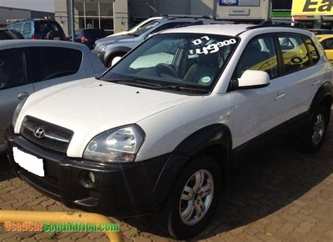 hyundai used cars images 2007 hyundai tucson used car for in johannesburg city
