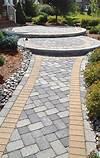 1849 best Walkway ideas images on Pinterest | Landscaping walkway paver patio designs
