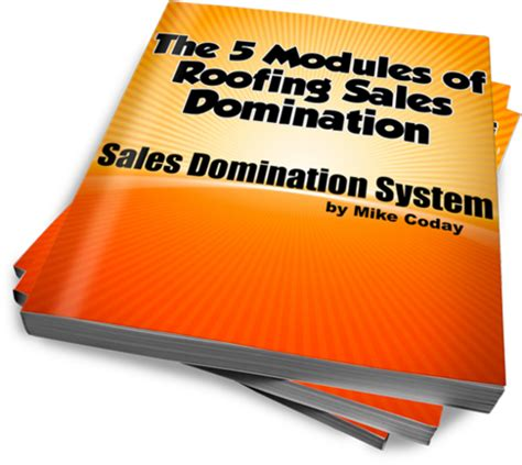 Roofing Sales sales system