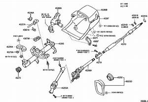 Steering Column  U0026 Shaft For 1996