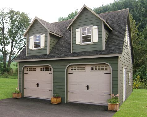 pre built 2 story garage built on site custom amish garages in oneonta ny amish