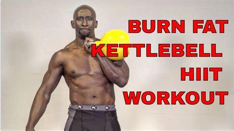 kettlebell hiit burn fat kettlebells workout