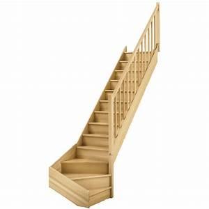 Escalier Quart Tournant Bas Droit Soft Classic Structure