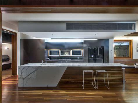 modern kitchen island bench modern galley kitchen design using floorboards kitchen 7711