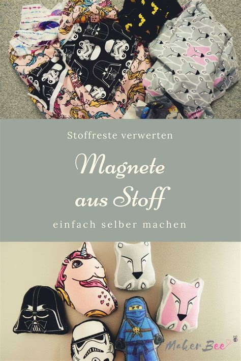 klebefolie für kühlschrank diy magnete aus stoffresten creative things to do if