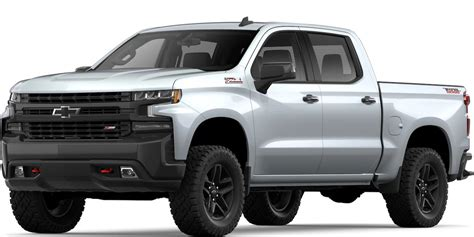 how many color options are available for the 2019 chevy silverado