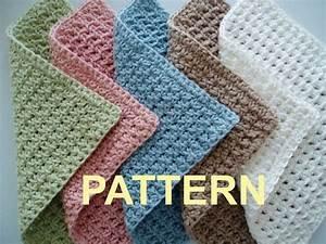very easy crochet dishcloth patterns Crochet Washcloth
