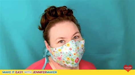 top  easy diy face mask patterns  tutorials