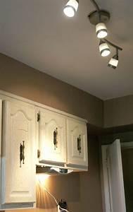 Halogen track lighting on winlights deluxe interior