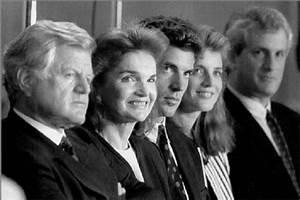 Senator Edward Kennedy, Jacqueline Kennedy Onassis, John F ...