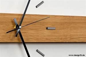 Moderne Wanduhren Design : design wanduhr eiche german design award nominee 2018 ~ Markanthonyermac.com Haus und Dekorationen