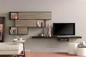 Meuble Tv Original : armoire de rangement pour un s jour moderne ~ Teatrodelosmanantiales.com Idées de Décoration