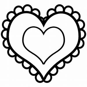 Hearts Clip Art Black And White | Clipart Panda - Free ...