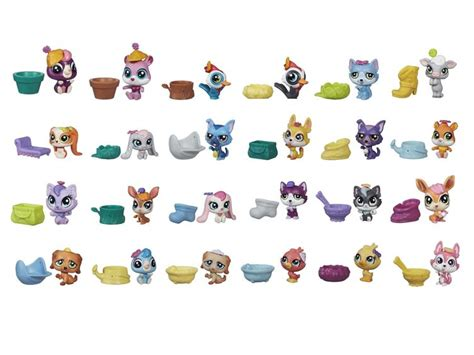 lps blind bags littlest pet shop blind bags series 2 box of 24 figures