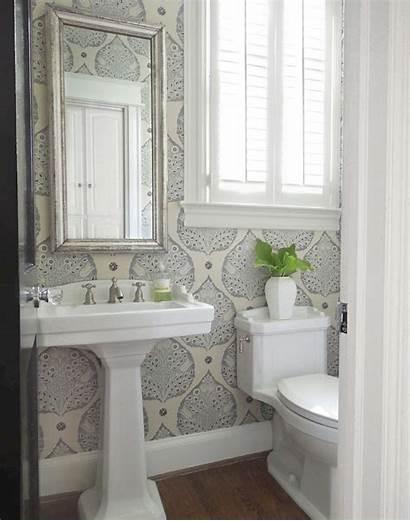 Powder Bathroom Tone Renovation Galbraith Powderroom Lotus
