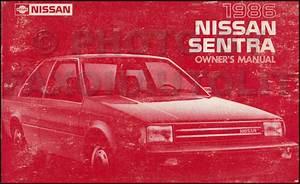 1988 Nissan Sentra Service Shop Repair Manual Set Oem