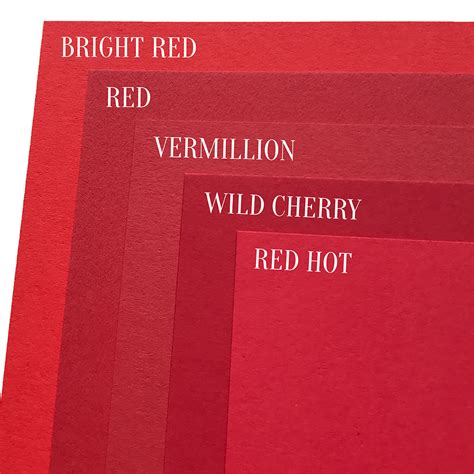 cherry wood paint vermillion colorplan cardstock 100 cover 8 5 x 11