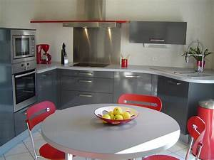 cuisine moderne homeandgarden With photo cuisine equipee moderne