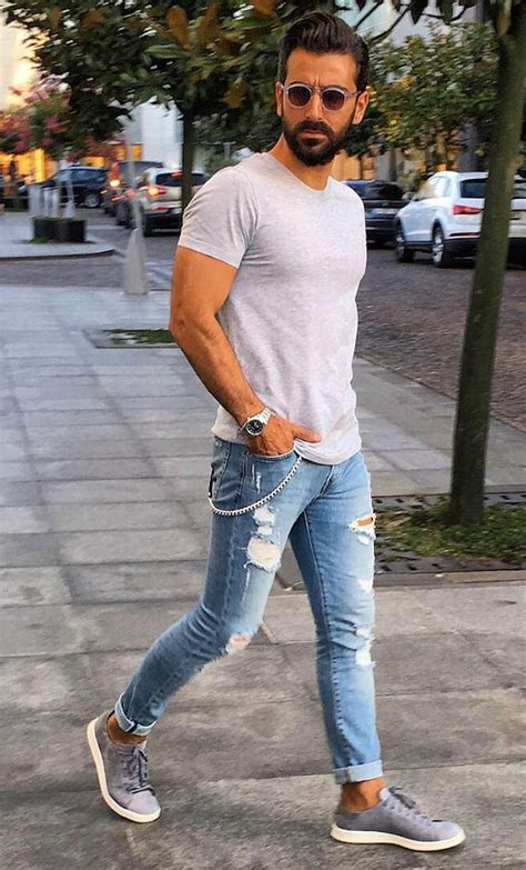 Stylish menu0026#39;s jeans outfits ideas in 2017 28 - Fashion Best