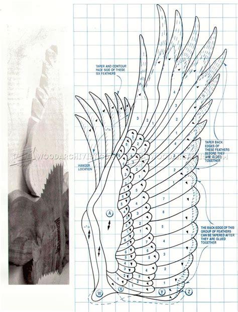 american eagle intarsia patterns woodarchivist