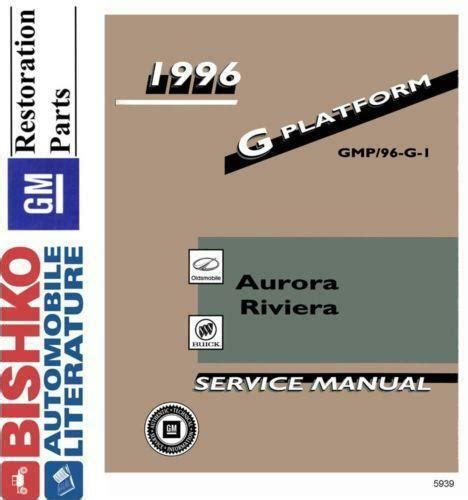 how to download repair manuals 1998 oldsmobile aurora instrument cluster oldsmobile aurora repair manual ebay