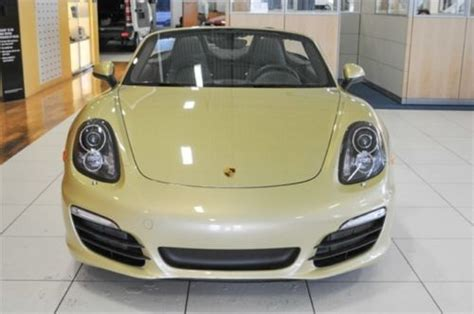 gold porsche convertible find used porsche certified used convertible pdk rare lime