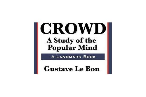 the crowd gustave le bon download