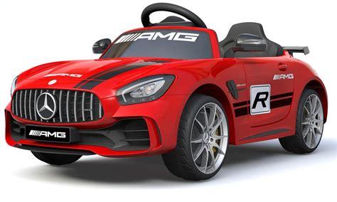 Voiture de sport enfant électrique Mercedes Luxe GT4 rouge ...