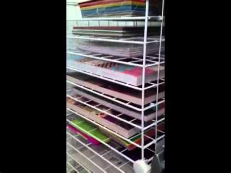 diy paper rack organizerstorage youtube