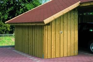 Carport Mit Anbau : seitlicher anbau f r satteldach einzel ~ Articles-book.com Haus und Dekorationen