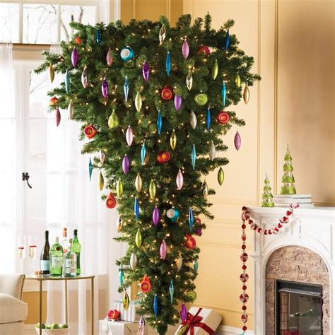 30 beautiful tree ideas celebration all about - Upside Down Christmas Trees