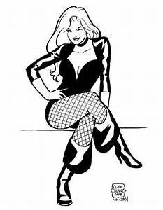 Black canary, Sketches and Black on Pinterest
