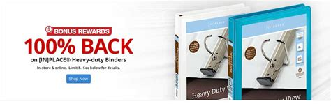 Office Max Rewards by Free Binders With 100 Back In Bonus Rewards At Office