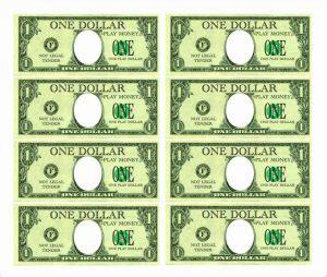 fake money printables    real
