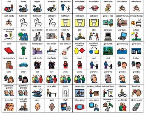 classroom rules template visual schedule and first then symbols and boards visual